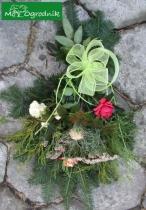 Wiązanka z kwiatów z naszego ogrodu