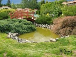 Prace konserwacyjne w ogrodzie ozdobnym